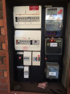 Old Electrical Switch Board